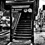 Photo taken at MTA Subway - 30th Ave (N/Q) by David D. on 9/23/2012