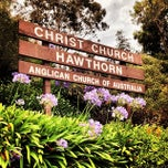 Photo taken at Christ Church Hawthorn by Sina M. on 1/3/2014