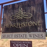 Photo taken at Hearthstone Vineyard and Winery by Robert V. on 7/6/2013