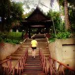 Photo taken at River Kwai Village Hotel Kanchanaburi by Swiss B. on 5/24/2013