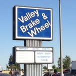 Photo taken at Valley Brake And Wheel Service by Jeff H. on 4/18/2013