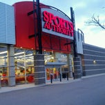 Photo taken at Sports Authority by Geoffrey Z. on 4/27/2014