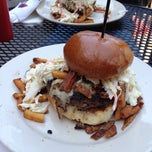 Photo taken at Winghart's Burger & Whiskey Bar by Tim F. on 4/25/2013