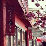 Photo taken at Kafka's Coffee & Tea by Iris W. on 4/21/2013