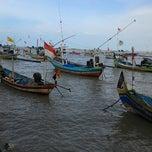 Photo taken at Wisata Pantai Boom Tuban by Hobby Akhbar S. on 1/29/2015