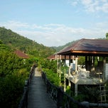 Photo taken at Tree Top Jungle Hut by judith on 1/20/2013