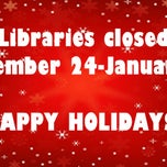 Photo taken at NSU John Vaughan Library by NSU John Vaughan Library on 12/22/2014