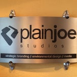 Photo taken at PlainJoe Studios by Brandon B. on 11/4/2013