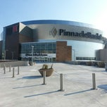 Photo taken at Pinnacle Bank Arena by Rudy C. on 8/18/2013