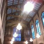 Photo taken at St. Francis Of Assisi - Delaware Ave by Rebecca on 10/5/2012
