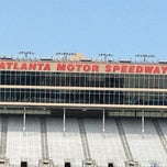 Photo taken at Atlanta Motor Speedway by J. B. on 8/16/2012