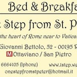 Photo taken at 1 Step from St Peter by B&B One Step from St. Peter w. on 4/22/2013