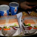 Photo taken at Burger King by Anil A. on 6/14/2014