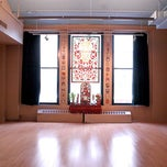 Photo taken at Jivamukti Yoga School NYC by Jivamukti Yoga School NYC on 1/17/2014