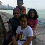 Photo taken at E & O Hotel Beach Area by Muhammad Firdaus C. on 11/18/2013