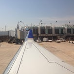 Photo taken at Gate B21 by Jay W. on 6/12/2014