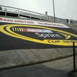Photo taken at Darlington Raceway by Missy T. on 5/11/2013
