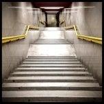 Photo taken at Metro Porta Romana (M3) by Yuri V. on 4/24/2013