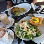 Photo taken at Schwabs Gallery Fine Foods by Carol C. on 9/22/2014