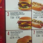 Photo taken at SONIC Drive In by Brandon E. on 5/4/2013