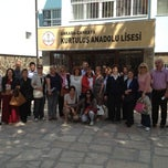 Photo taken at Kurtuluş Anadolu Lisesi by Ayşegül M. on 5/19/2013