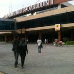 Photo taken at Sultan Mahmud Badaruddin II International Airport (PLM) by Ruh on 11/26/2012