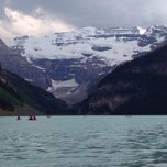 Photo taken at Lake Louise, Banff National Park by Samir G. on 7/3/2013