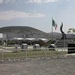 Photo taken at Parque Guanajuato Bicentenario by Fidel N. on 6/8/2013