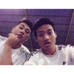 Photo taken at Meazza Futsal by Dewadeyudi [. on 3/26/2014