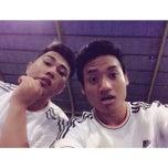 Photo taken at Meazza Futsal by Dewadeyudi [. on 3/26/2014