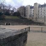 Photo taken at Les Arènes by Baptiste G. on 2/15/2014