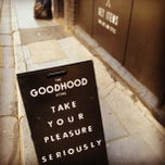 Photo taken at GoodHood by emma t. on 4/20/2013