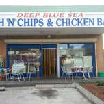 Photo taken at Deep Blue Sea Fish & Chips & Chicken Bar by Lineker M. on 5/17/2013