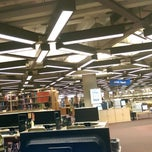 Photo taken at Brookens Library at the University of Illinois Springfield by Muhammad Q. on 5/20/2014