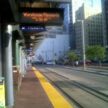 Photo taken at Warehouse District/Hennepin Ave LRT Station by Laurel M. on 9/25/2012