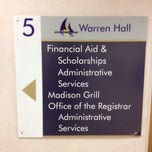 Photo taken at Warren Hall by Ronnie B. on 5/3/2013