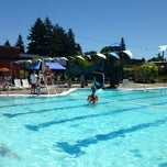 Photo taken at Mounger Pool by Anna A. on 6/30/2013