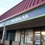 Photo taken at Masala Restaurant by Alaia A. on 6/1/2013