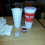 Photo taken at Five Guys by Tyrone-Shawn C. on 12/23/2012