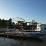 Photo taken at Chesapeake Inn Restaurant & Marina by Rónán G. on 5/1/2013