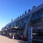 Photo taken at Международный аэропорт «Толмачёво» / Tolmachevo International Airport (OVB) by Roman V. on 7/6/2013