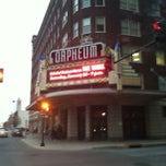 Photo taken at Orpheum Theatre by Jason R. on 1/27/2013