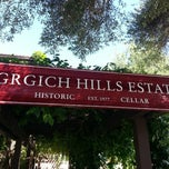 Photo taken at Grgich Hills Estate by Mark G. on 6/1/2013