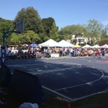 Photo taken at Kits Beach Basketball Courts by Anthony T. on 8/10/2013