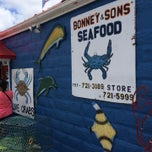 Photo taken at Bonney & Sons Seafood by George on 6/29/2014
