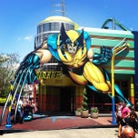 Photo taken at Marvel Superhero Island by Luis M. on 5/6/2013