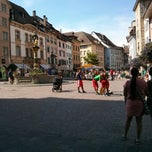Photo taken at Fronwagplatz by Ievgeniia K. on 6/15/2013