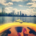 Photo taken at Lady Bird Lake by Jen B. on 4/21/2013