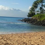Photo taken at Napili Beach by Dave S. on 10/26/2012