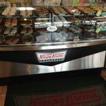Photo taken at Krispy Kreme Doughnuts by James B. on 6/14/2013
